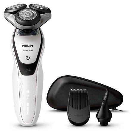 Philips Series 5000 S5651/45 Nass-und Trockenrasierer für 63€ (statt 98€)
