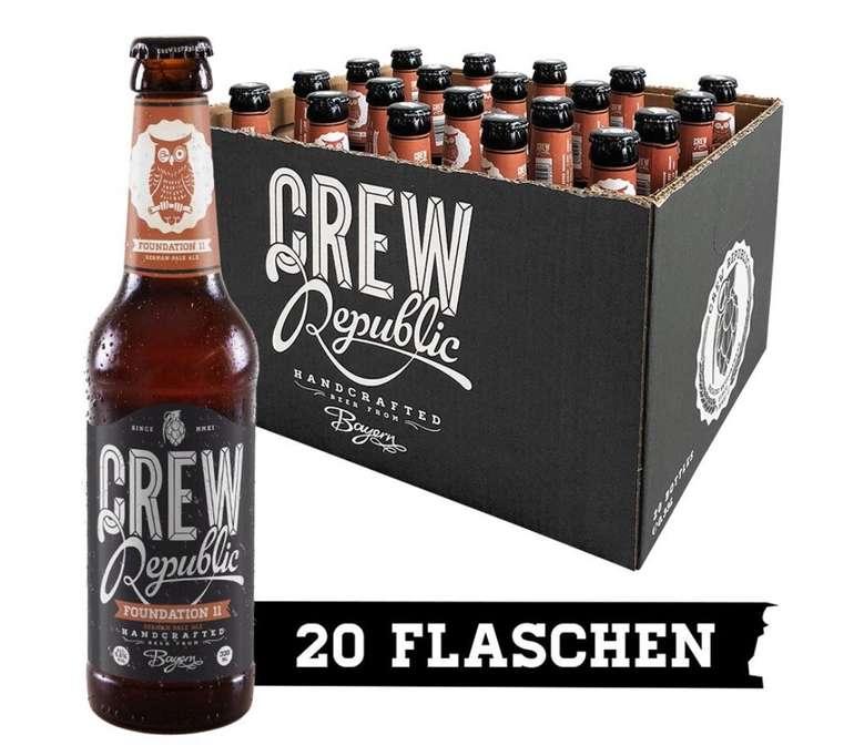 Crew Republic Craft Beer Sale + versandkostenfrei - z.B. 20 Flaschen German Pale Ale für 27,12€