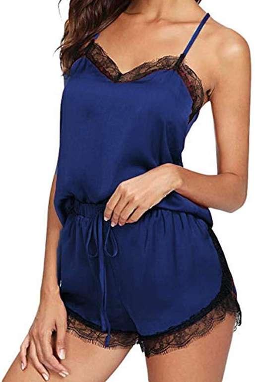 Newanna Damen Schlafanzug in 5 Farben für je 3,60€ inkl. Versand (statt 4€)