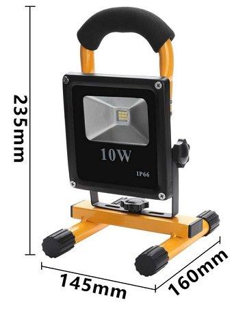 Wolketon LED Fluter im Angebot, z.B. 10 Watt Kaltweiß für 11,89€ mit Prime