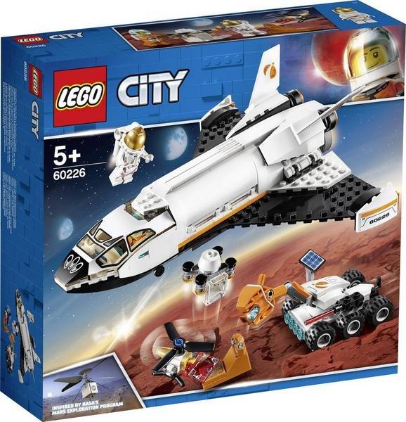 Vorbestellen: Lego City Mars-Forschungsshuttle (60226) für 19,67€ inkl. Versand (statt 27€) - KultClub!