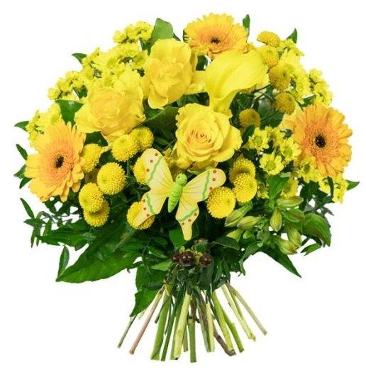 """Blumenstrauß """"Schöne Ostern"""" für 19,35€ inkl. VSK (statt 26,94€)"""