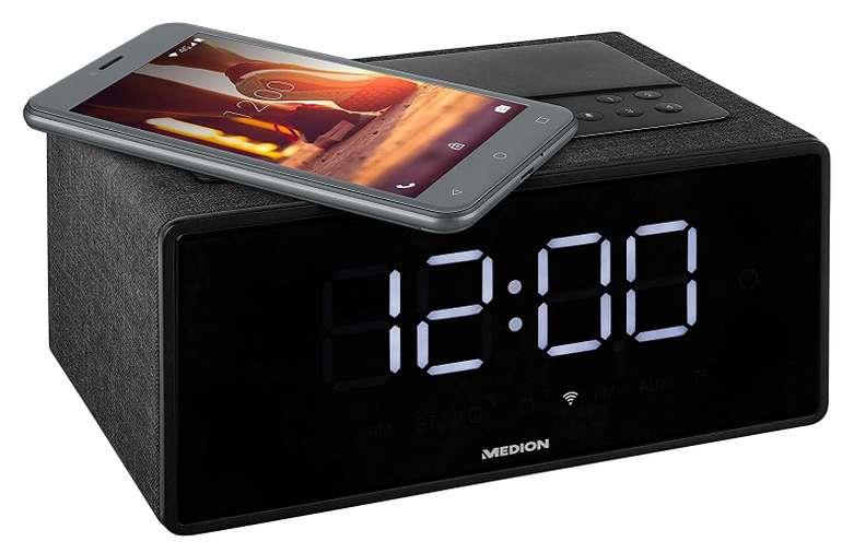 Medion Life P66970 WLAN-Weckstation mit Alexa & Qi-Ladestation für 47,94€ (statt 60€)