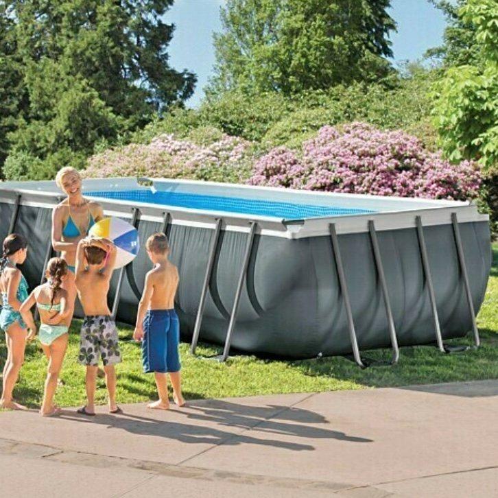 Bauhaus: Intex Frame-Pool-Set Ultra Quadra XTR (L x B x H: 549 x 274 x 132 cm) für 738,90€ inkl. Versand