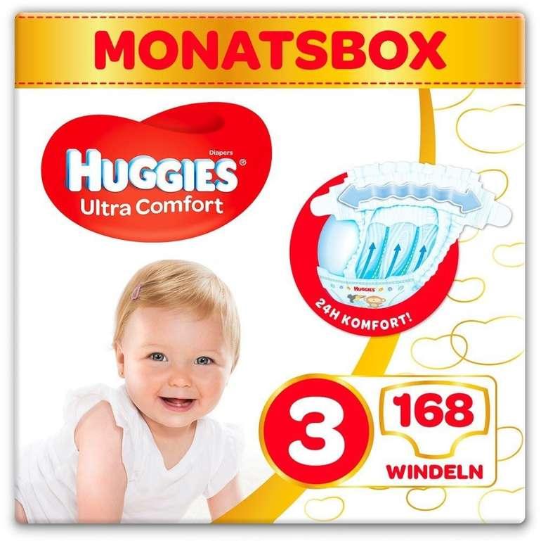 Windeln.de: 25% Extra-Rabatt auf Huggies Windeln & Pants, z.B. Ultra Comfort 3 für 24,59€
