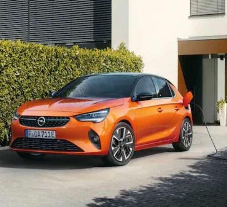 Privat Leasing: Opel Corsa Elektro 50kWh mit 136PS für 79€ mtl. (Überführung: 995€, BAFA, LF: 0.26)