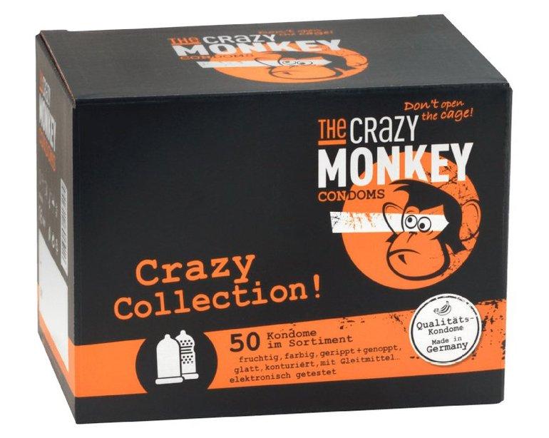 50er Pack The Crazy Monkey Condoms (Crazy Collection) für 7€ inkl. Versand