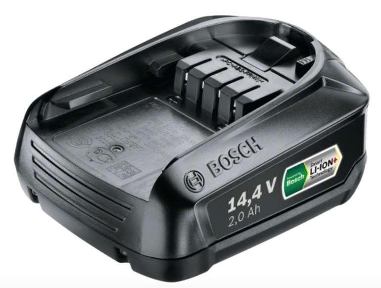 Bosch Akkupack PBA 14.4V 2.0Ah WA für 33€ inkl. Versand (statt 55€)