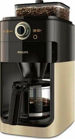 Philips Grind & Brew HD7768/90 mit Glaskanne für 99,99€ (statt 139€)