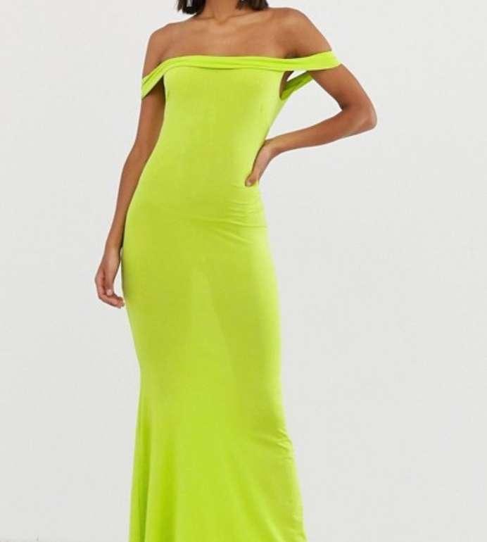 14.000 Kleider im Asos Sale bis -79% Rabatt + 20% Extra - z.B. Bardot Maxi-Kleid ab 8,49€ (statt 50€)