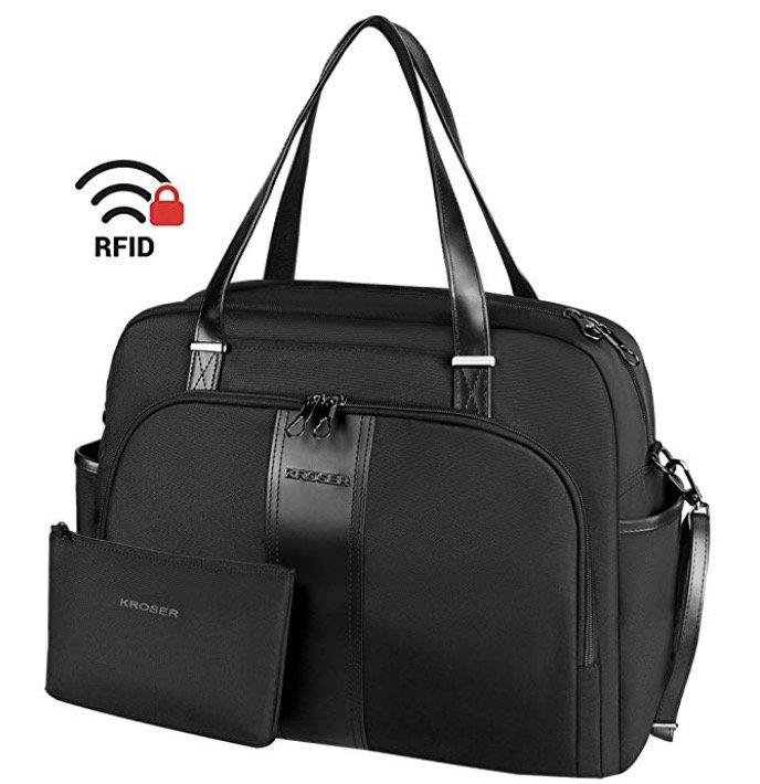 """Kroser Laptop Damen Handtasche mit RFID-Schutz für 15,6"""" Notebooks nur 25,89€"""