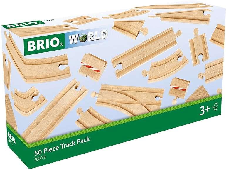 Brio World Großes Schienensortiment (33772) für 29,85€ inkl. Versand (statt 40€)