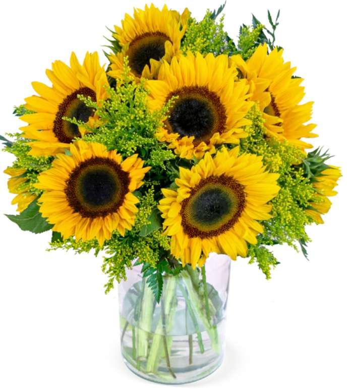 """BlumeIdeal: XXL Blumenstrauß """"Autumn Love"""" mit Sonnenblumen für 25,98€inkl. Versand"""