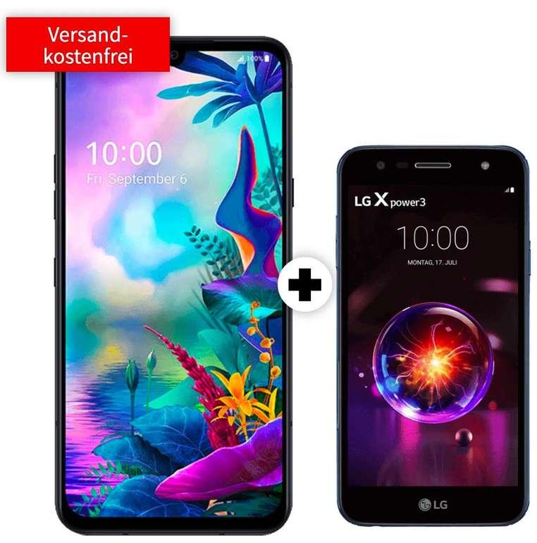 LG G8X Thinq & LG X Power 3 (29€) + Telekom green LTE (D1-Netz, All-Net Flat, 8GB LTE) für 31,99€ mtl.