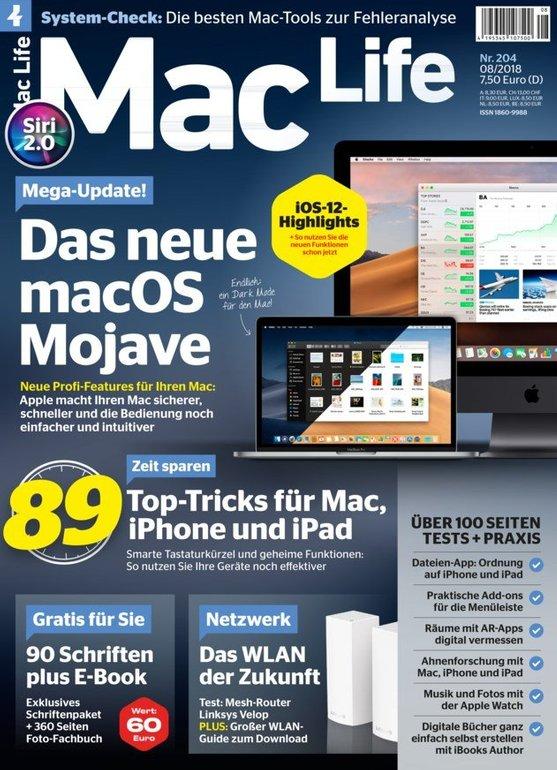 Mac Life im Jahresabo für 94,80€ + 60€ BestChoice-Gutschein