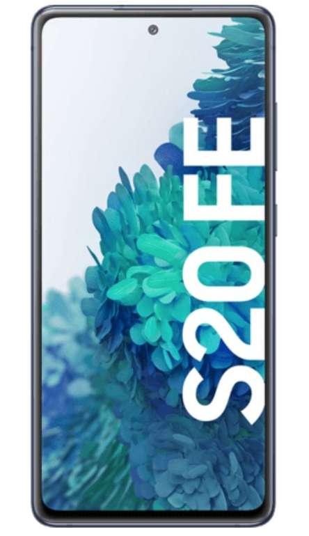 Samsung Galaxy S20 FE mit 128GB (4,95€) + Charger Pad + Nest Hub + Vodafone green Allnet Flat mit 5GB LTE für 17,99€ mtl.