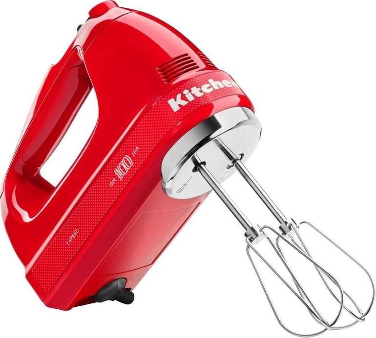 KitchenAid 5KHM7210HESD Queen of Heart Passion Handmixer (85 Watt) für 85€ (statt 113€)