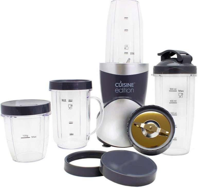 Cuisine Edition 8in1 Stand Mixer Smoothie Maker (12-tlg.) für 29,99€inkl. Versand (statt 35€)