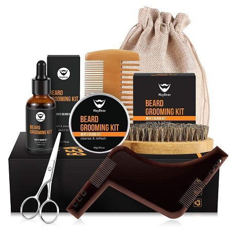 8-teiliges MayBeau Bartpflegeset für 13,99€ inkl. Versand (statt 20€) - Prime!