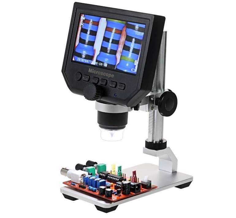 KKmoon - Digital Elektronisches Mikroskop mit 4.3 Zoll Display für 41,99€ (statt 60€)
