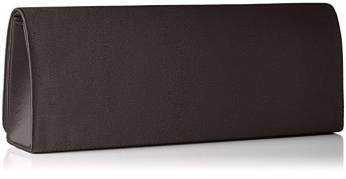 """Satin Clutch """"BD253-200"""" in schwarz für 0,12€ (MBW: 12,12€)"""