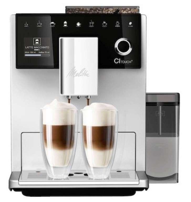 Melitta CI Touch F630-101 Kaffeevollautomat mit Milchbehälter und One Touch Funktion für 579€ (statt 689€)