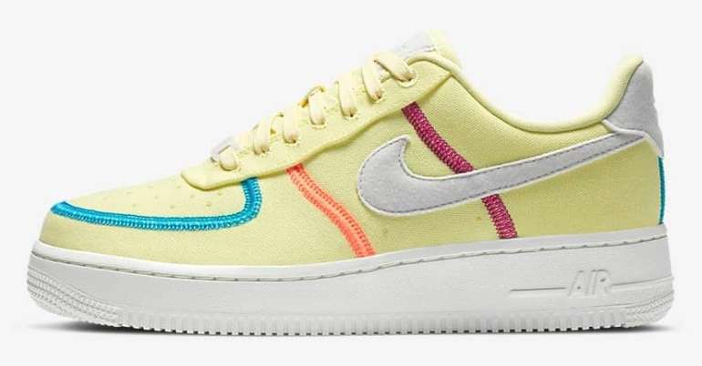 Nike Air Force 1 '07 LX Damen Sneaker in 3-Colourways für je 82,49€ inkl. Versand (statt 99€)