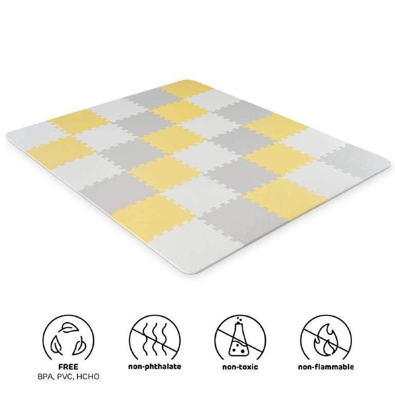 Kinderkraft Luno Schaumstoff Puzzlematte in 2 Farben für je 34,94€ inkl. Versand (statt 45€)