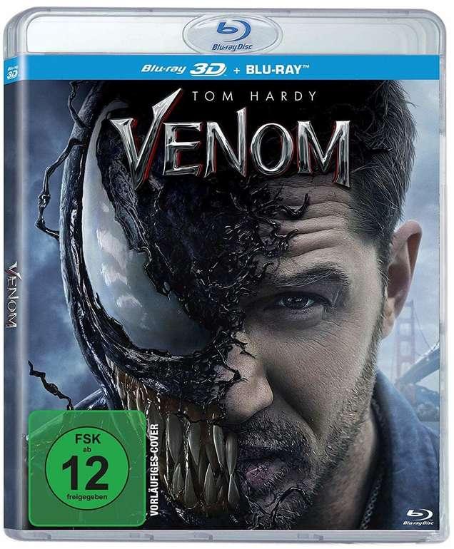 Venom 3D auf Blu-ray für 9,99€ mit Prime