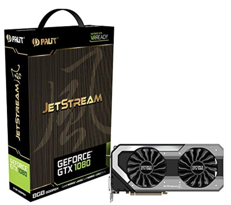 Preisfehler! Palit GeForce GTX 1080 8GB Grafikkarte nur 193€ (statt 546€)