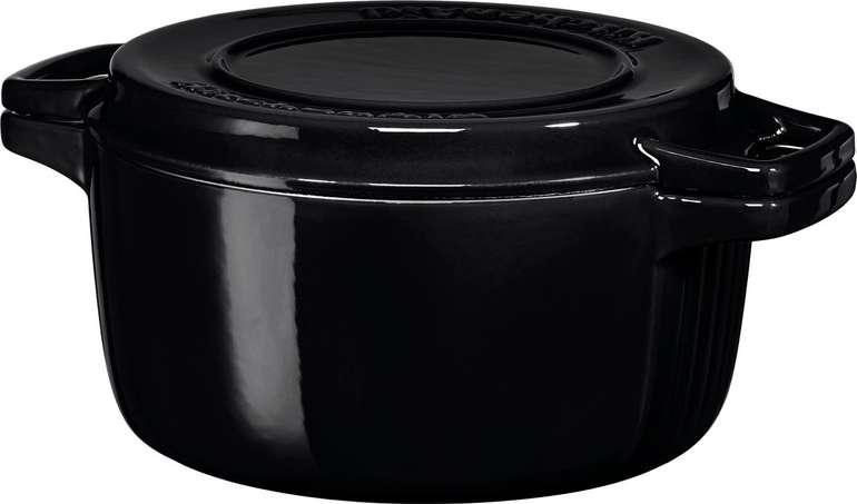 KitchenAid KCPI40CROB - Bräter aus Gusseisen (24 cm) für 63,03€ inkl. Versand (statt 99€)