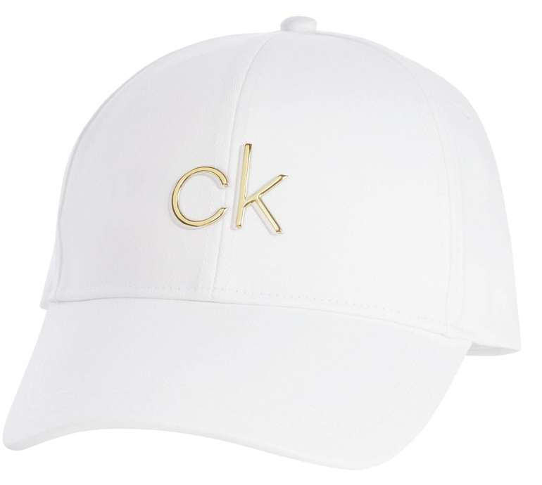 Calvin Klein Cap in Gold / Weiß für 20,39€ inkl. Versand (statt 33€)
