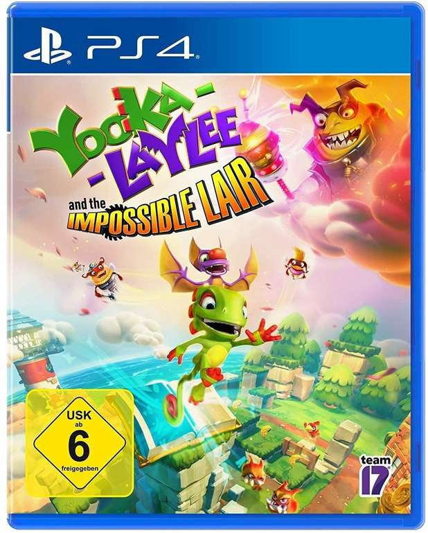 Yooka-Laylee and the Impossible Lair (PS4) für 16,19€ inkl. Versand (statt 23€)