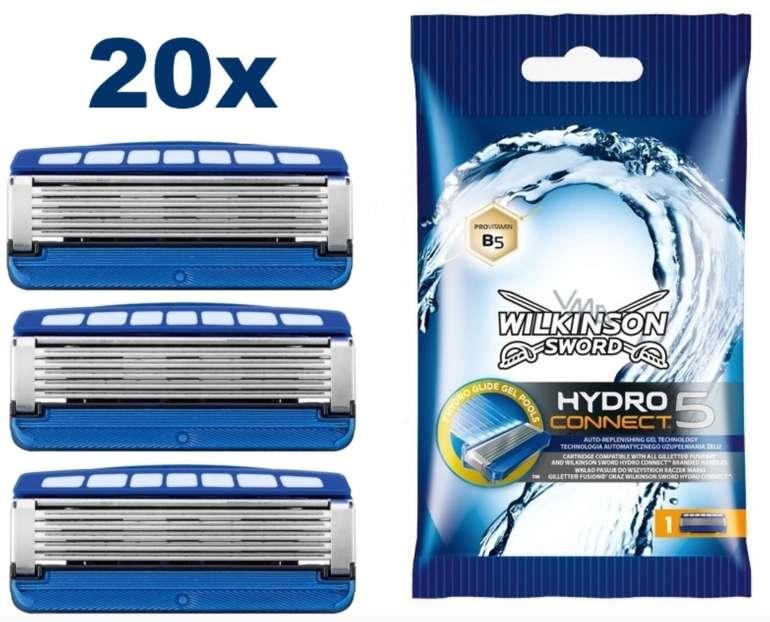 20er Pack Wilkinson Sword Hydro Connect 5 Rasierklingen für 24,82€ inkl. Versand