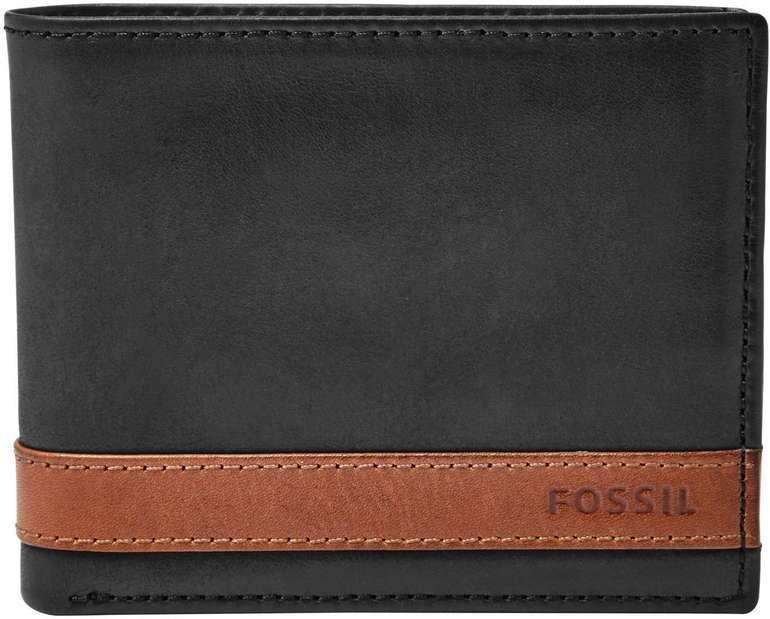 Fossil Quinn Flip ID Bifold Herren Geldbörse für 14,70€ (statt 36€)