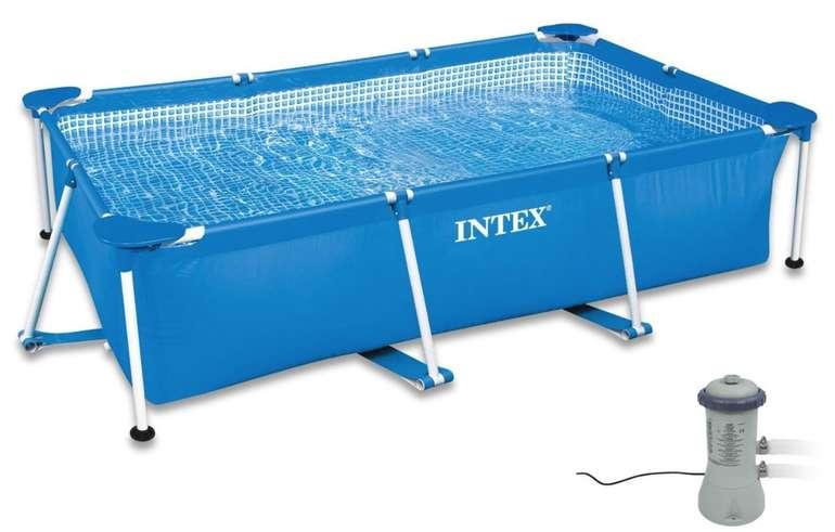 Intex Frame Pool Family (300 x 200 x 75 cm) mit Kartuschenfiler (2827204) für 299,99€ inkl. Versand