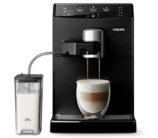 Philips HD8830/10 Saeco 3000 Series Kaffeevollautomat + Milchaufschäumer zu 259€