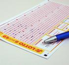 Mi. 18 Uhr: Lotto 6aus49: 16 Mio € Jackpot: 6 Felder 1€ (statt 6,50€, Neukunden)