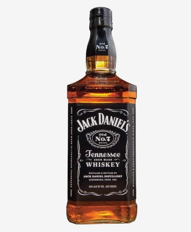 2 Flaschen Flasche Jack Daniel's Old No.7 Tennessee Whiskey (je 1 Liter) für 43,80€ inkl. Versand (statt 50€)