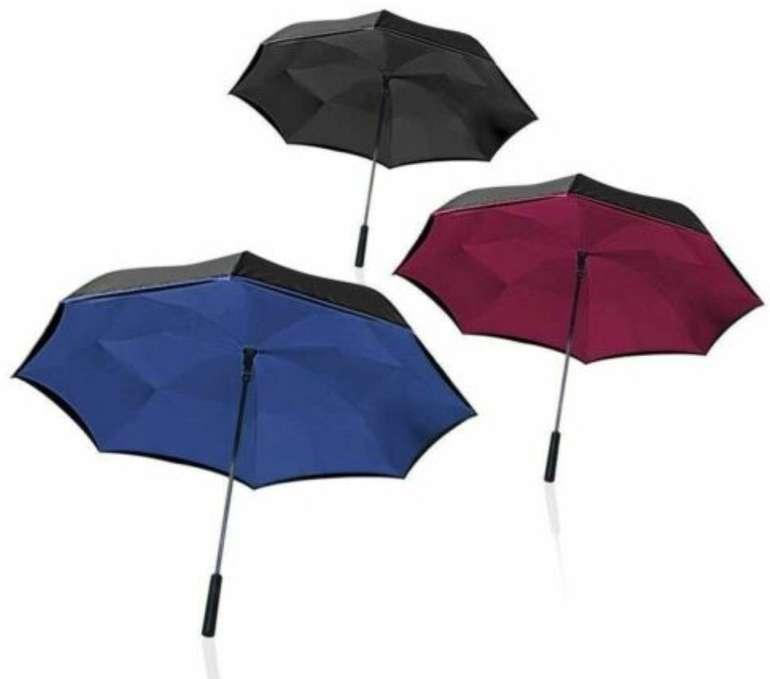 Wonderdry Umbrella Regenschirm mit Umstülptechnik für 9,95€ inkl. Versand (statt 13€)