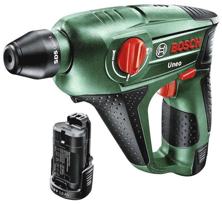 Bosch Uneo Akku-Bohrhammer mit Koffer & Zubehör für 111€ inkl. Versand