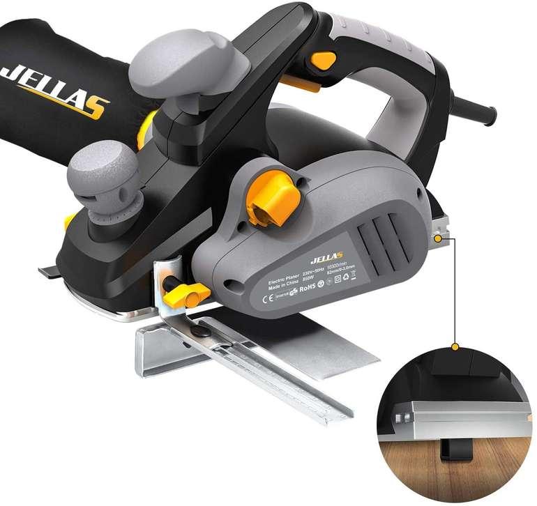 Jellas EP01-TD Elektrohobel (16000 U/min, 850W) für 25,99€ inkl. Versand (statt 50€)