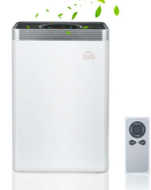 Luftreiniger Ionenluftreiniger 5in1 Ersatzfilter Luftbefeuchter Air Purifier für 56,99€ inkl. Versand (statt 80,99€)
