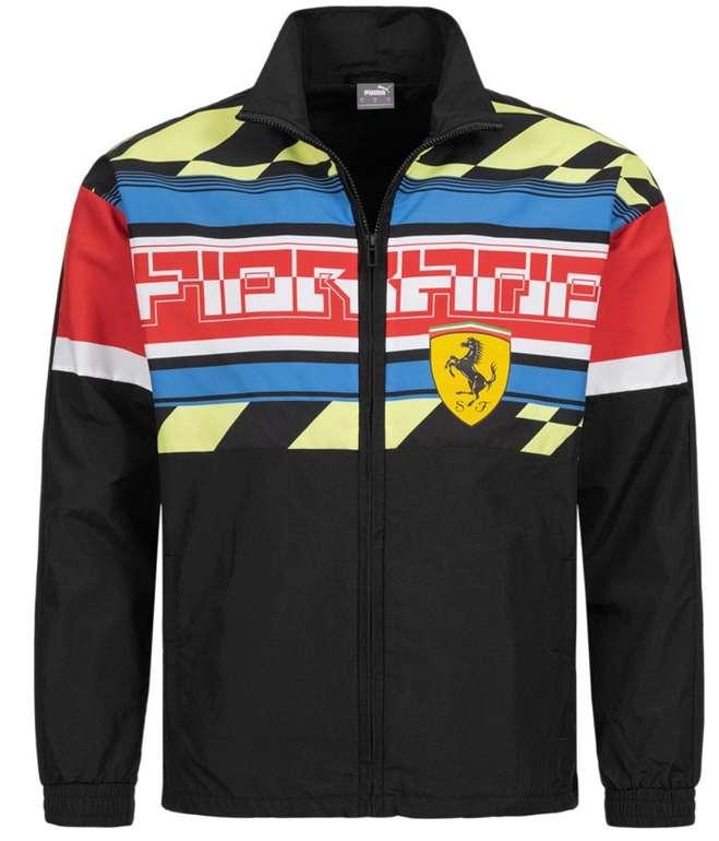 Puma x Scuderia Ferrari Street Motorsport Woven Herren Jacke für 39,54€ (statt 95€)