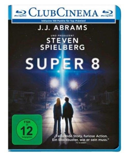 Super 8 (Blu-ray) für 3,86€ inklusive Versand (statt 6,40€)