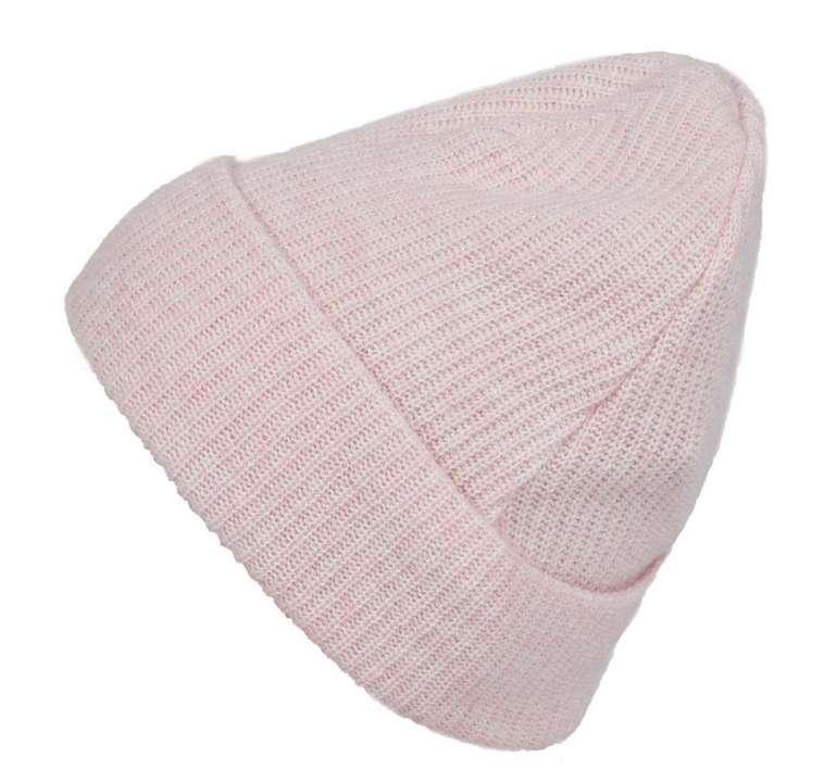 Zwillingsherz Mütze in rosa (5% Kaschmir) für 9,73€ inkl. Versand (statt 17€)
