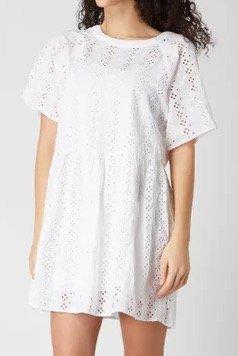 Levi's Poppy Kleid in Weiß für 34,99€ inkl. Versand (statt 60€)