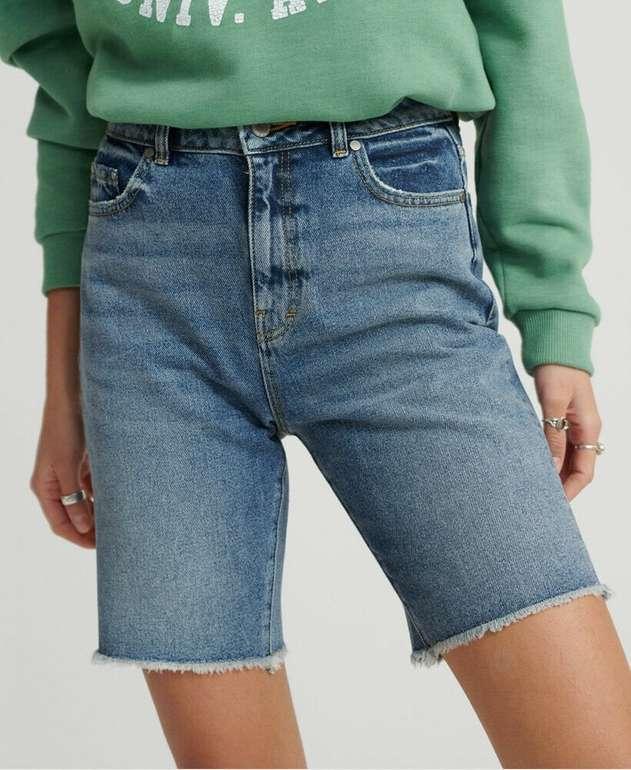 Superdry Damen Bermuda Boy Shorts für 19,16€ inkl. Versand (statt 30€)