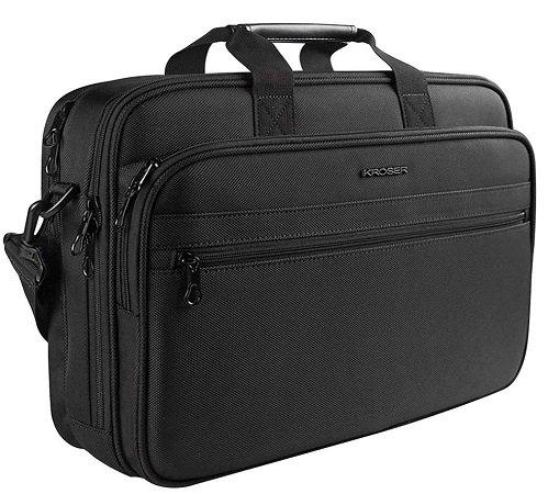 """Kroser - 17"""" Laptop Tasche mit mehreren Fächern für 17,49€ inkl. VSK (Prime)"""