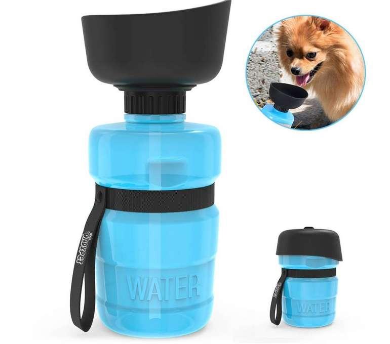 DadyPet - Trinkflasche mit 520ml Volumen für Hunde nur 9,51€ inkl. Prime
